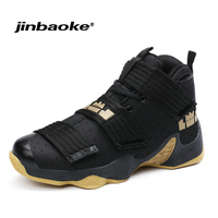 Men's Professional Basketball Shoes Lebron Shoes Original Sports Shoes Stable Support Size 36 46 Men Star Sneakers Ball Super