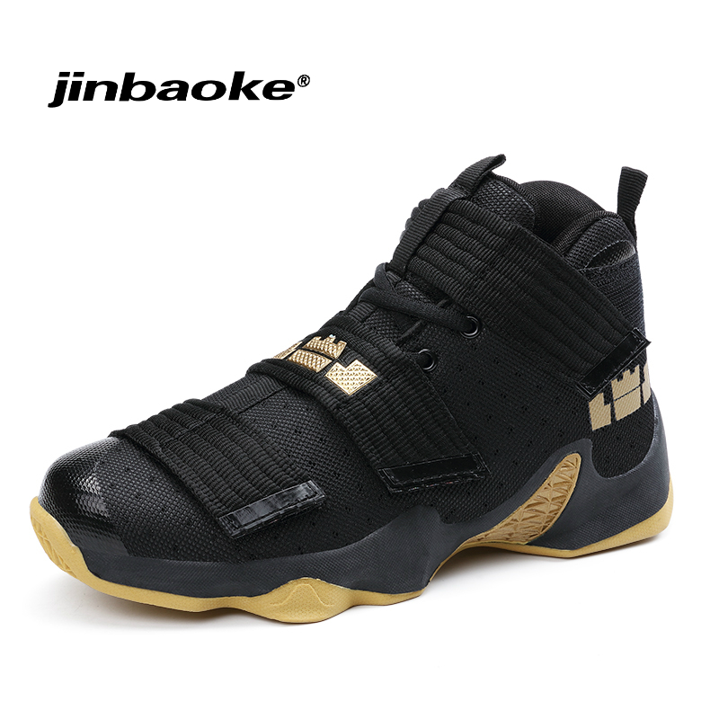 Men's Professional Basketball Shoes Lebron Shoes Original Sports Shoes Stable Support Size 36-46 Men Star Sneakers Ball Super