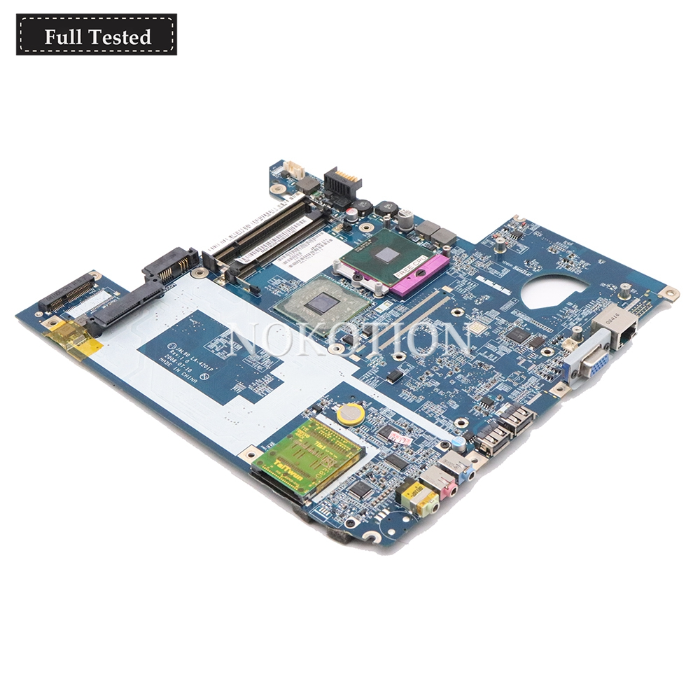 NOKOTION MBAT902001 MB.AT902.001 Main board For Acer Aspire 4730 4930 JAL90 LA-4201P Laptop Motherboard GM45 DDR2 Free CPU NOKOTION MBAT902001 MB.AT902.001 Main board For Acer Aspire 4730 4930 JAL90 LA-4201P Laptop Motherboard GM45 DDR2 Free CPU