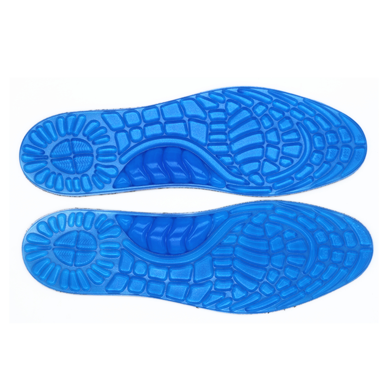 1 pair Insoles for Shoe Orthotic Arch Support Massaging Silicone Anti-Slip Gel Soft Sport Insole Pad Foot Care Gel Insole high quality o leg orthotic shoe pad arch support insoles foot care massage shoes pads shock absorbant breathable insole xd 042