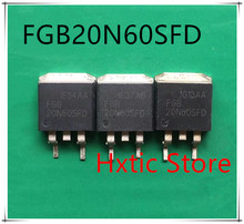 NEW 10PCS/LOT FGB20N60SF FGB20N60SFD FGB20N60 20N60SFD 20N60 TO-263