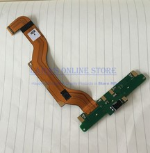 Original New For Nokia Lumia 1520 N1520 Micro USB Charging Connector Port with Microphone Flex Cable Spare Parts