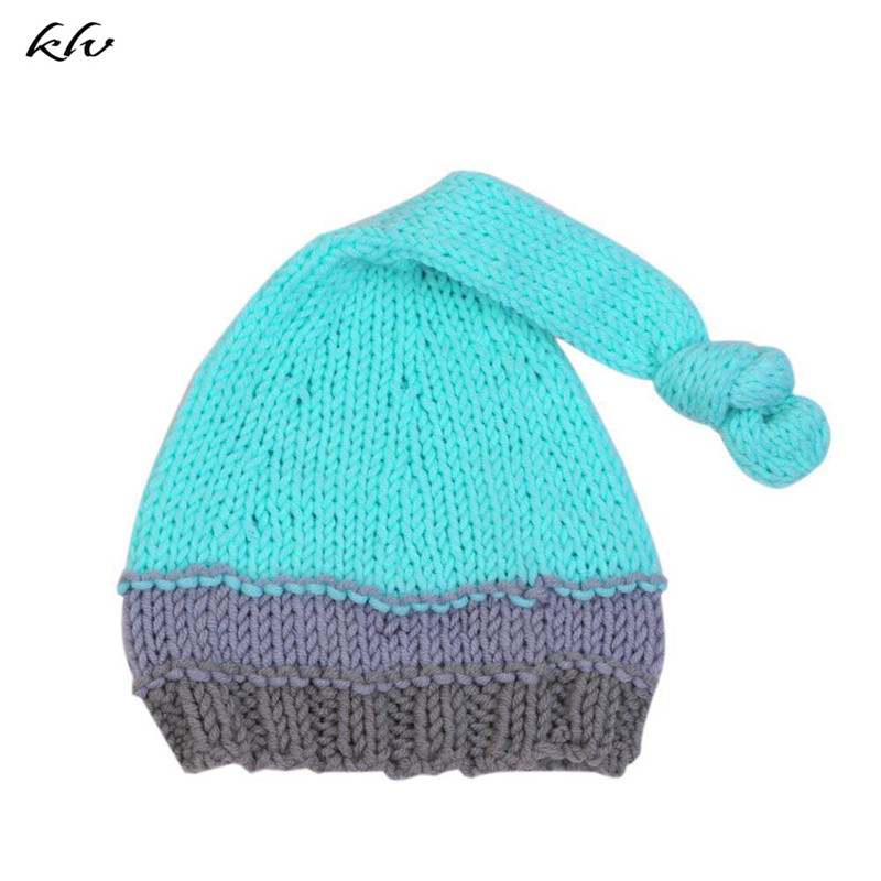 Newborn Baby Hats Boys Girls Cute Crochet Knit Costume Prop Outfits Newborn Photography Props Accessories in Hats Caps from Mother Kids
