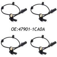 New 4PCS ABS Wheel Speed Sensor For Infiniti FX35 FX37 FX50 QX70 3.5 3.7 5.0L 47901-1CA0A 479011CA0A