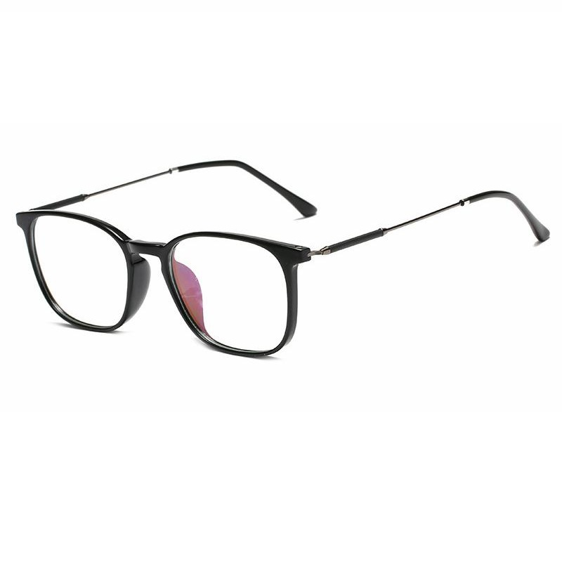 837bc14cc58 Mouse over to zoom in. Women Men Anti-blue Light radiation Protection TR90  frame Computer Glasses Flat Mirror retro ultralight ...