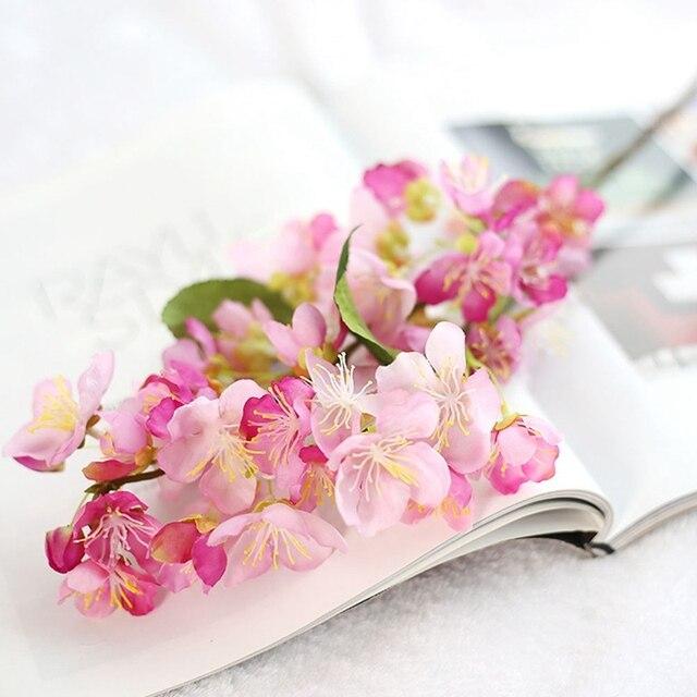 Diy Christmas Wreath Artificial Flower Cherry Blossom Sakura Petals Handmade Wedding Decoration Party Decorative
