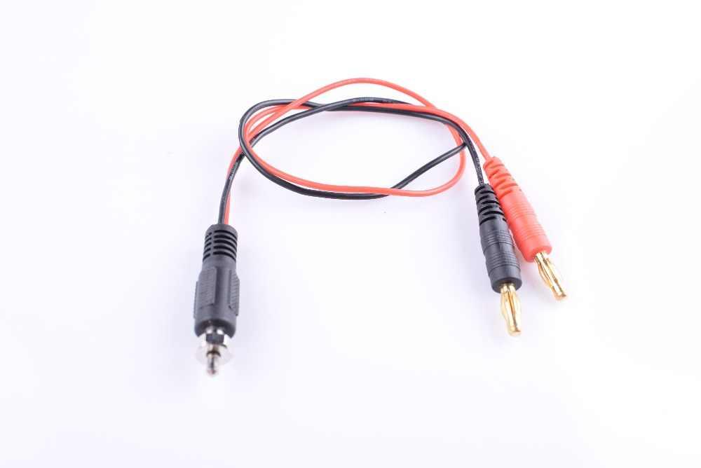 Plugue da banana de 4.0mm ao fio do adaptador da ligação do cabo da carga do acionador de partida do fulgor ec2 da c.c. de jr/futaba jst/bec