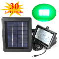 IP54 Waterproof LED Flood Lamp Solar Garden Floodlight Super Bright 30 LEDs Green Light Environmentally Friendly Lighting