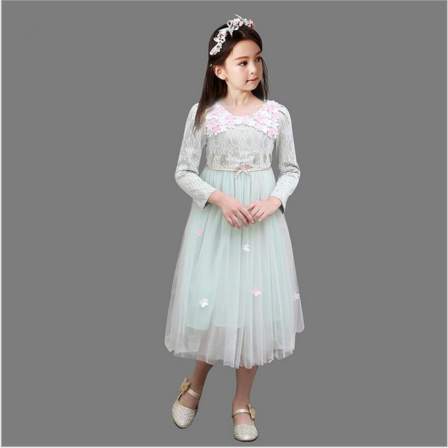 Aliexpress.com : Buy 2016 autumn teenage girl dresses long sleeve ...
