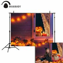 Allenjoy newborn photography background Candy lights windows pumpkin Halloween new background photocall customize photo printed allenjoy photographic background grunge style concrete wooden scratches vintage new backdrop photocall photo printed customize