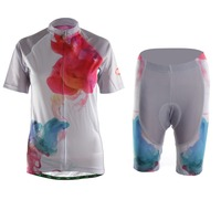 TVSSS Men Cycling Jersey Kit Latest Fashion Printing Breathable Quick Dry Bike Sportswear Suit Jerseys Set