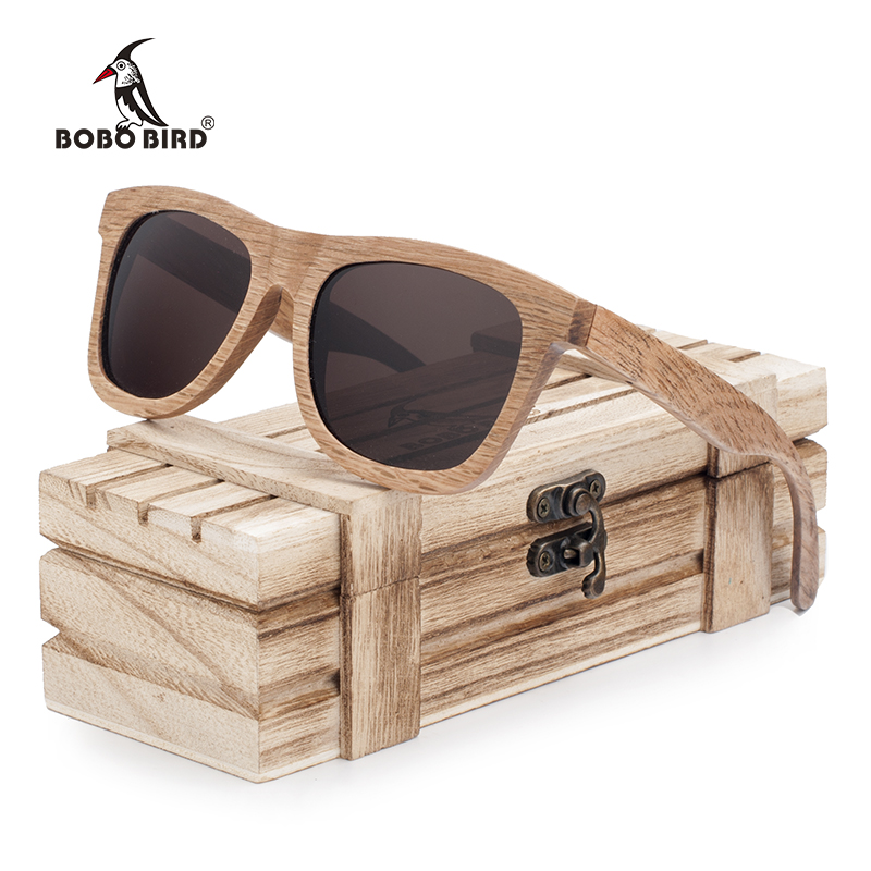 a2bb9c2f813 BOBO BIRD Polarized Men s Brand Mirror Eye Wear Women Handmade Original Wooden  Sunglasses for Friends as