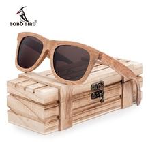 Polarized Handmade Wooden Men's Sunglasses