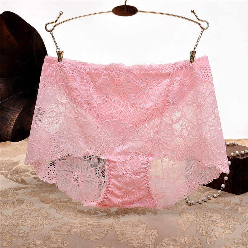 Kỳ Lạ May Mặc Lenceria Mujer Sexy Quyến Rũ Caliente Rỗng Ren Nữ Underpant Cao Lưng Và Hông Quần Đùi Nữ Gợi Cảm May6
