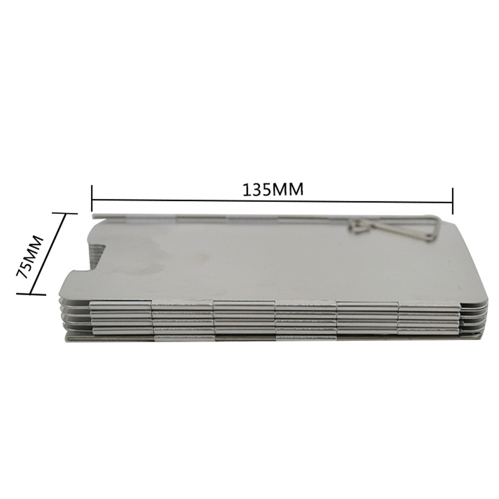 Foldable Gas Stove Windshield 3