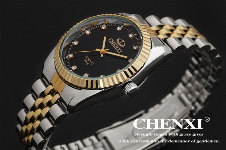 Couples Quartz Watch, Men's & Women's Watches, 30m Waterproof Wristwatches 28