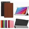 Tri-folding Флип Кожа PU Case For Huawei T1 10.0 T1-A21W Держатель Таблетки Case для Huawei MediaPad T1 T1-A21W Защитной Оболочки