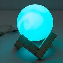 DIA8.5cm круглый шар 7 цветов Сменные светодиодные ночники лампы Фестиваль вспышки светильники в виде игрушек украшения настольные лампы