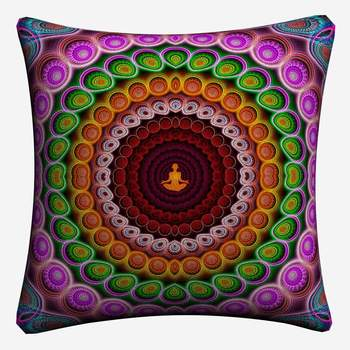 3D Buddha Cushion Cover