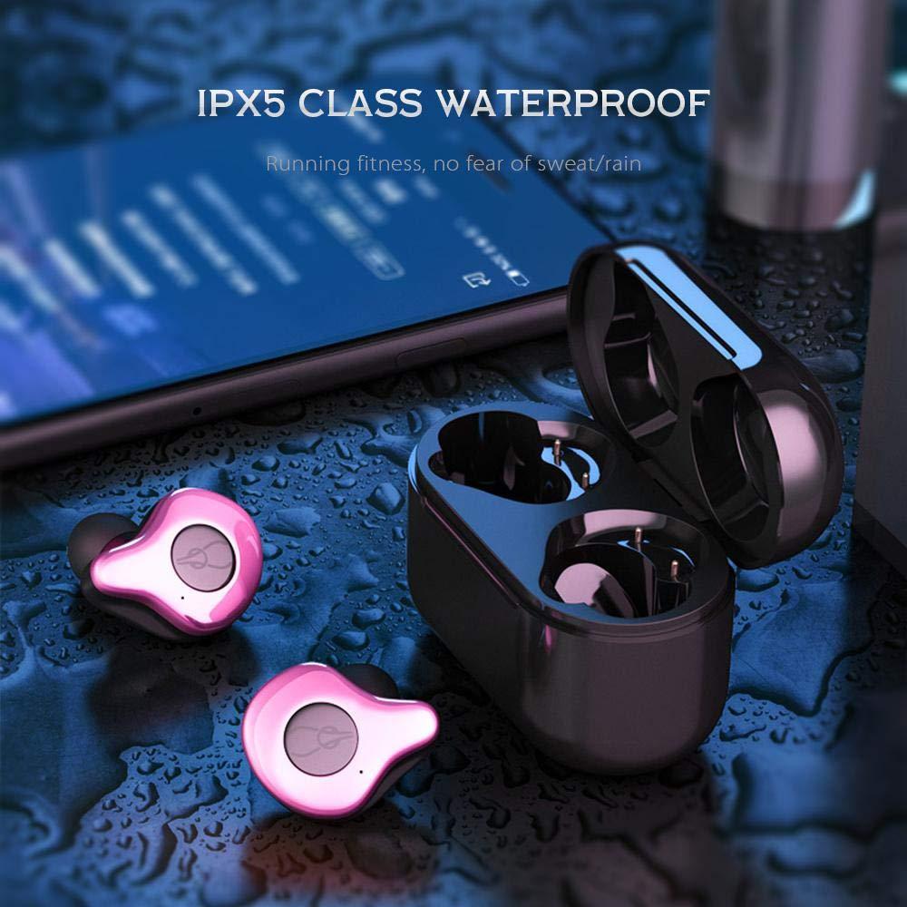 Mise à niveau TWS 5.0 Bluetooth écouteurs sans fil écouteurs Sport course Hifi casque mains libres 3D stéréo son écouteurs pour téléphone - 3