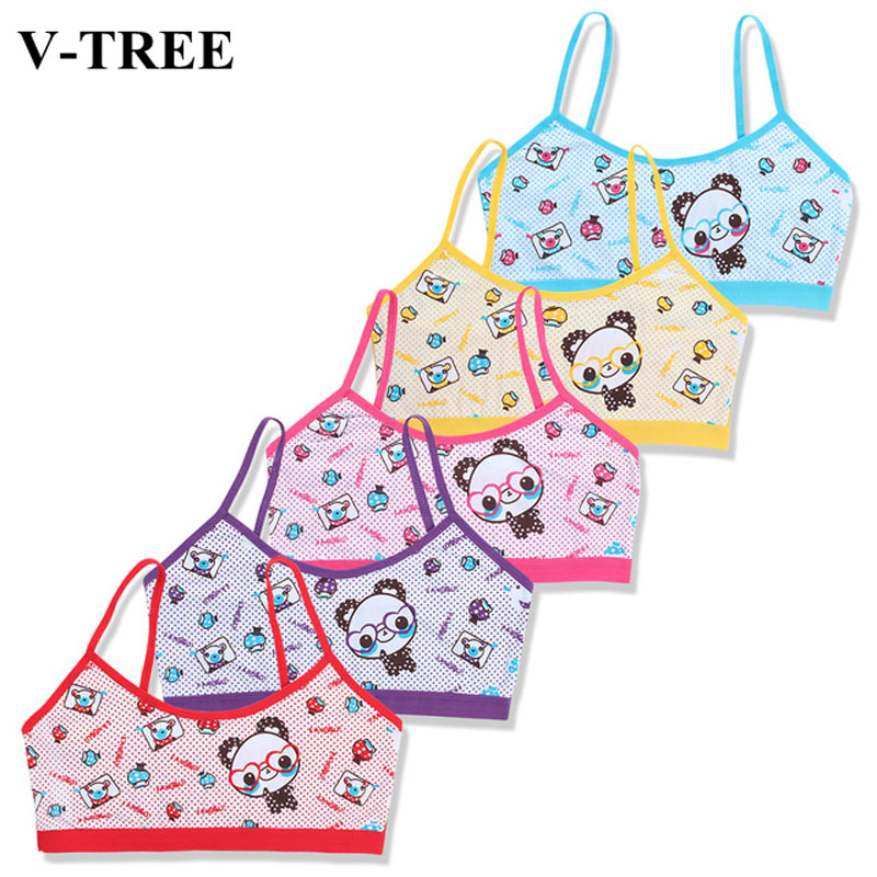 Kids Underwear Model Candy Color Tank Top For Girls Cotton Girls Summer Camisole Baby Singlets Teenager Undershirt 6-14Y