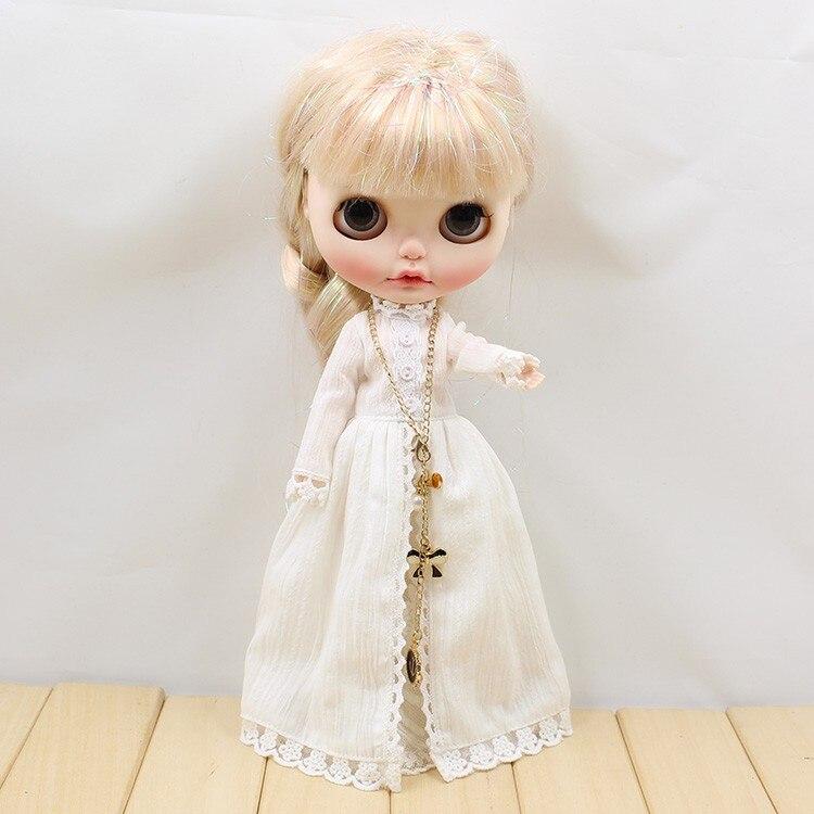 Neo Blythe Doll Vintage Long Dress 1