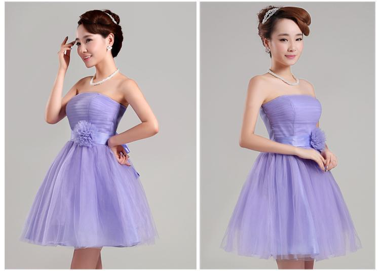 2015 Charming Sweetheart bow   Cocktail     Dresses   with ribbon pleats low price cheap   cocktail   party   dress