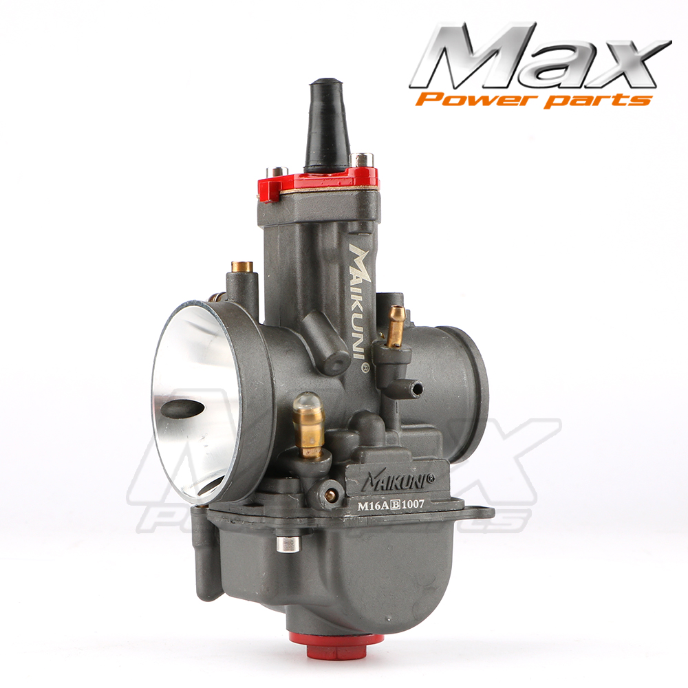 PWK30 30mm High Performance Motorcycle Carburator Mikuni Universal Carburetor Parts Scooters With Power Jets