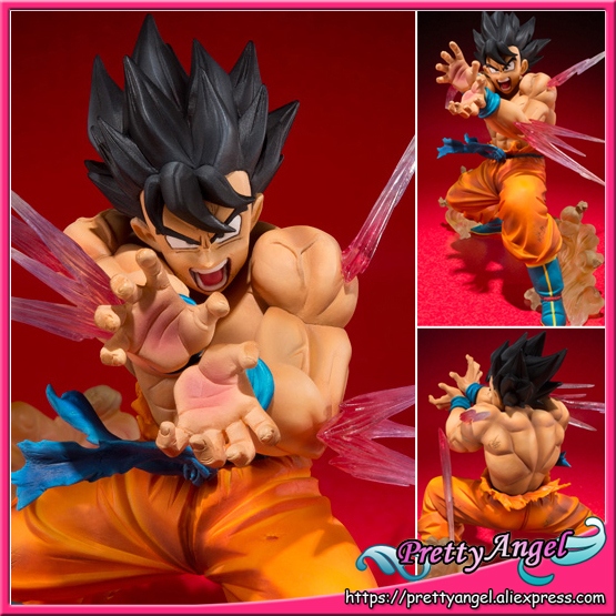 Japan Anime Original Bandai Tamashii Nations Figuarts ZERO Dragon Ball Z Collection Figure - Son Gokou KAMEHAMEHA Ver. japan anime dragon ball z 100% original bandai tamashii nations figuarts zero ex completely figure super saiyan trunks