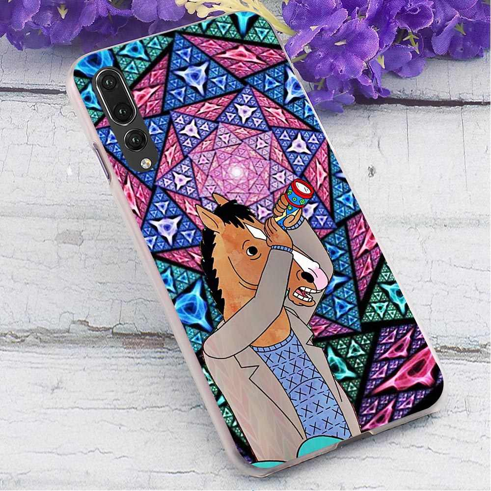 Конь БоДжек жесткий чехол для huawei Honor 7X ультра тонкий чехол для телефона huawei Honor Y7 Prime Y9 Nova3i 6A 7A pro Чехлы для задней панели