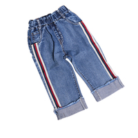 Girls Jeans Pants Spring Autumn 2017 Children S Clothing Jeans Blue Trousers Casual Pants Baby Children