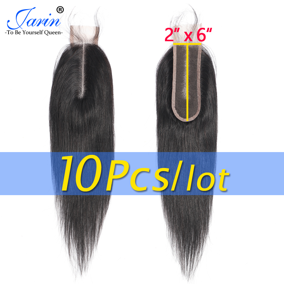 Jarin Peruvian Straight Lace Closure 2 6 Inches Hairline Middle Part 100 Human Hair Remy Natural