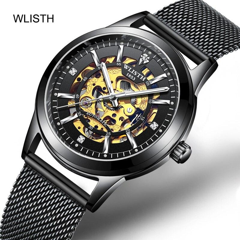 Reloj deportivo mecánico automático para hombre, Relojes casuales de marca de lujo para hombre, reloj de pulsera para hombre, reloj de pulsera para hombre-in Relojes mecánicos from Relojes de pulsera    1