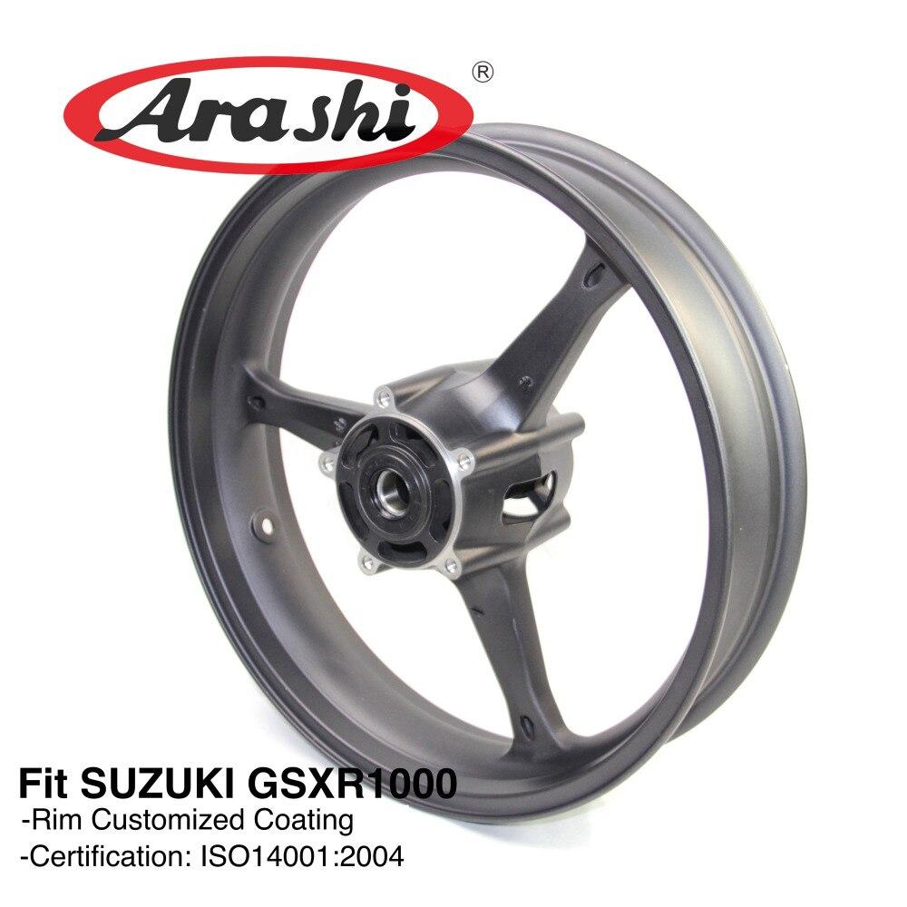 Arashi GSXR1000 2005-2008 Jante De la Roue Avant Pour SUZUKI GSX-R GSXR 1000 GSX1000R 2005 2006 2007 2008 K5 K6 k7 K8 GSXR 600 750