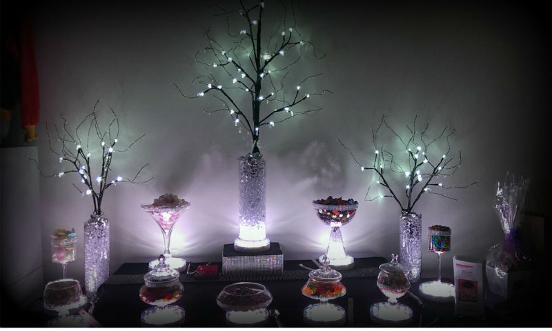 Centerpiece Vase Light