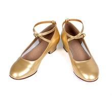 Free Shipping Gold  Latin Dance Shoes For Girls Woman Salsa Ballroom Dancing Shoes Zapatos De Baile Latino Mujer WZJ