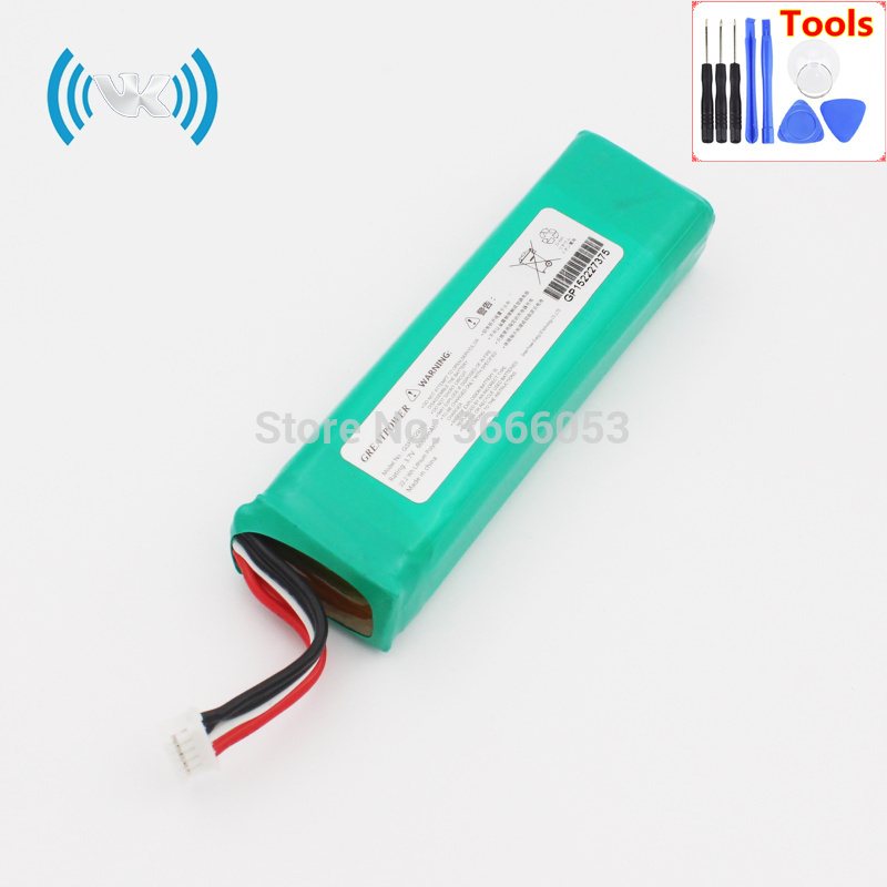VK 6000mAh/22.2Wh 3.7V GSP1029102 For JBL 2 Plus 2 Charge 3 2015 Version Battery