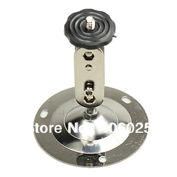 Small Metal Wall Mount Bracket for Mini Security CCTV Camera 360degree Rotation can Instal Indoor Outdoor Wall and Ceiling 10PCS