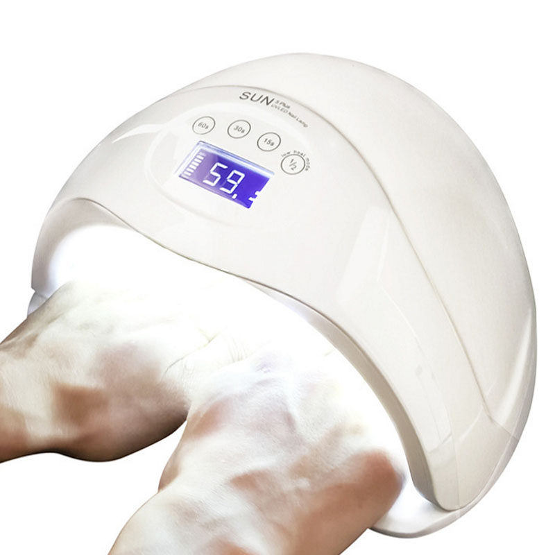 SUN5 plus 48W Dual UV Led Lamp Nail Dryer For All Types Gel 24Leds UV Lamp Nail Machine 30s/60s/99s Timer LCD Display