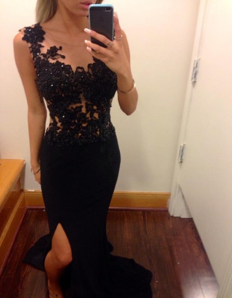Black Dress for Masquerade