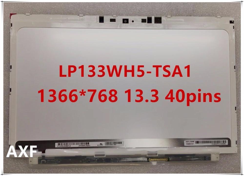 Original LP133WH5-TSA1 for HP Spectre XT Pro13 b000 13T-2100 LAPTOP SCREEN LP133WH5 TSA1 1366*768 13.3 new original lp140wh7 tsa1 for acer m5 481g m3 481 x483 laptop screen lp140wh7 tsa1 1366 768 14 0lcd 40pins