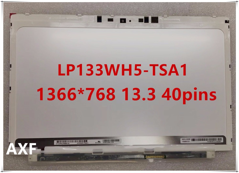 Original LP133WH5-TSA1 for HP Spectre XT Pro13 b000 13T-2100 LAPTOP SCREEN LP133WH5 TSA1 1366*768 13.3