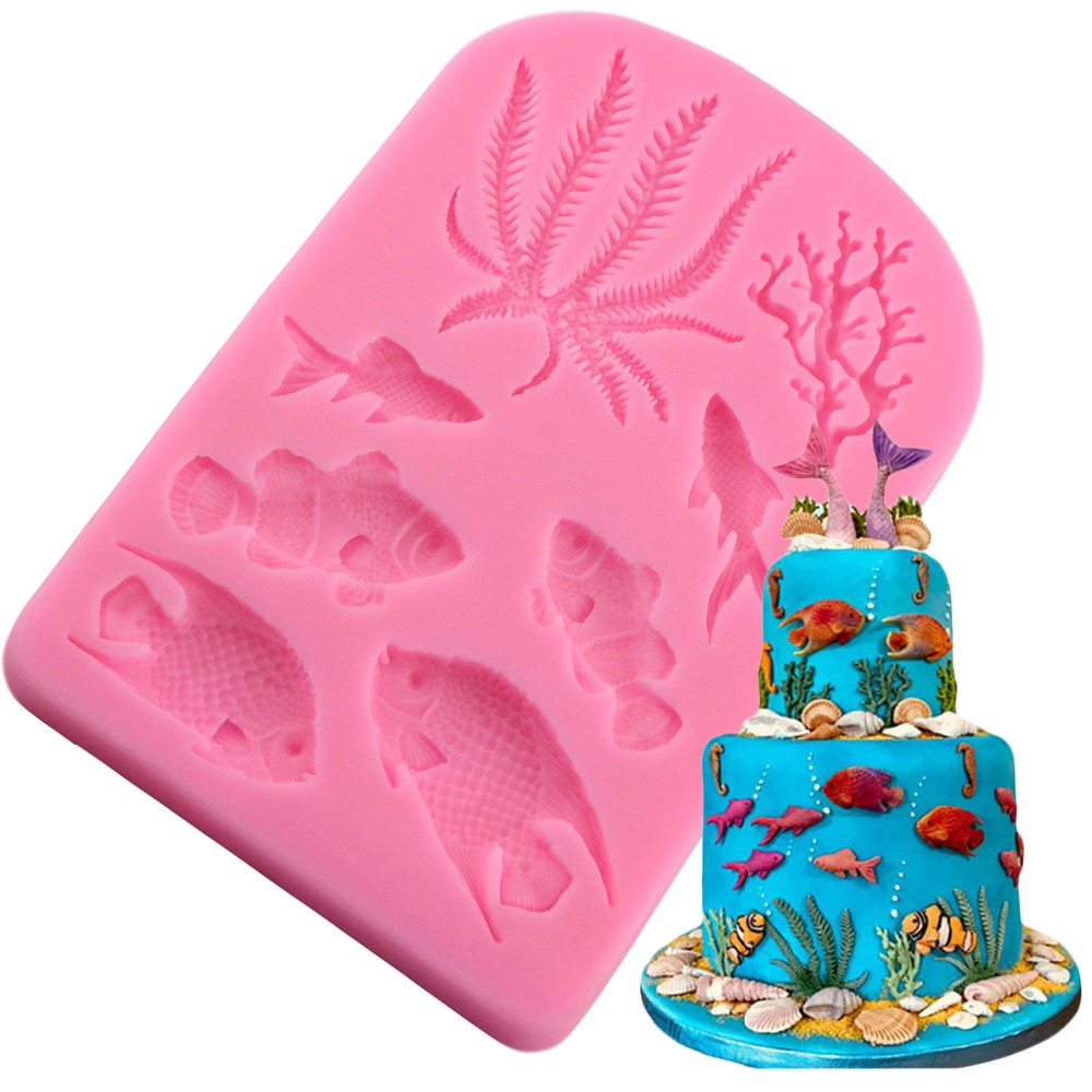 European Symmetrical Lace Cake Border Silicone Mold Fondant Cake Decorating P0CA