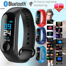 Fashionable Smart Watch Sports Bluetooth 4.0 Fitness Activity Heart Rate Monitor Tracker Blood Pressure SmartWatch Russian Watch(China)