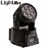 Premium Par LED Light AC 90 240V 105W DMX512 Rotating RGB LED Stage Light Voice Activate