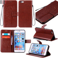 For Apple Iphone 6 6s Plus Wallet Leather Case Book Styles Shockproof Full Protection Stand New