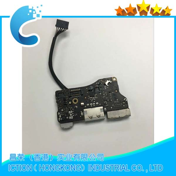 wholesale A1369 Power Board Magsafe I/O Audio USB Board for MacBook Air 13 Mid 2011 A1369 mc965 mc966 922-9963 820-3057-A hsw rechargeable battery for apple for macbook air core i5 1 6 13 a1369 mid 2011 a1405 a1466 2012