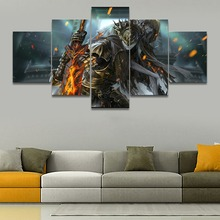 Dark Souls III Game Painting Canvas Wall Art HD Print Home Decor Picture 5 Piece For Living Room