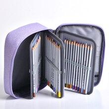ดินสอขนาดใหญ่กรณี trousse scolaire cartuchera para lapices โรงเรียน etui สีชมพู okul malzemeleri kalem kutusu piornik caixa de lapis