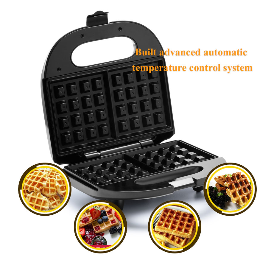 Waffle Maker Multifunctional Home Muffin Machine For Kitchen Use Updated Version Stainless Steel Power Saved EU PlugWaffle Maker Multifunctional Home Muffin Machine For Kitchen Use Updated Version Stainless Steel Power Saved EU Plug